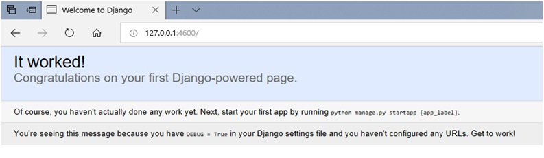 Django | How to create first Web Application?