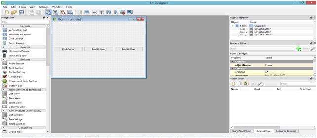 PyQt- Layout management - 1 (Drag and Drop with QtDesigner)